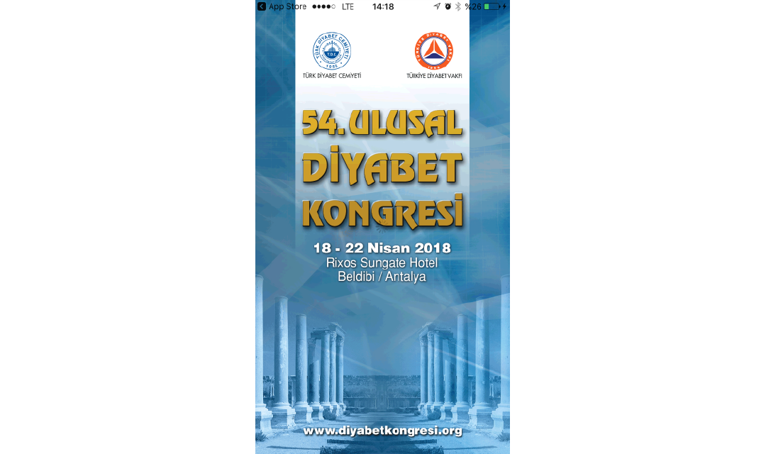 54. Ulusal Diyabet Kongresi